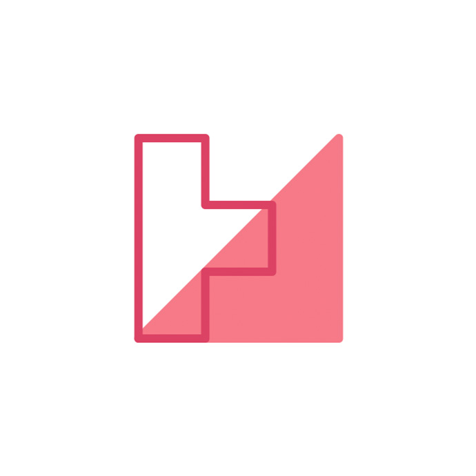 Happy Medium's Logo where a picture of the author's face usually goes